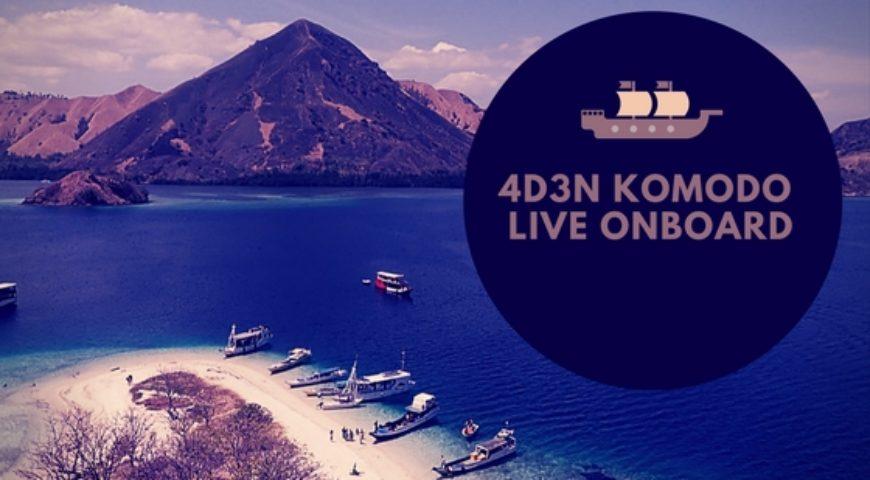 4D3N KOMODO LIVE ONBOARD – Last Trip