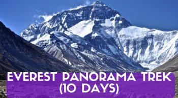 Everest Panorama Trek (10 Days)
