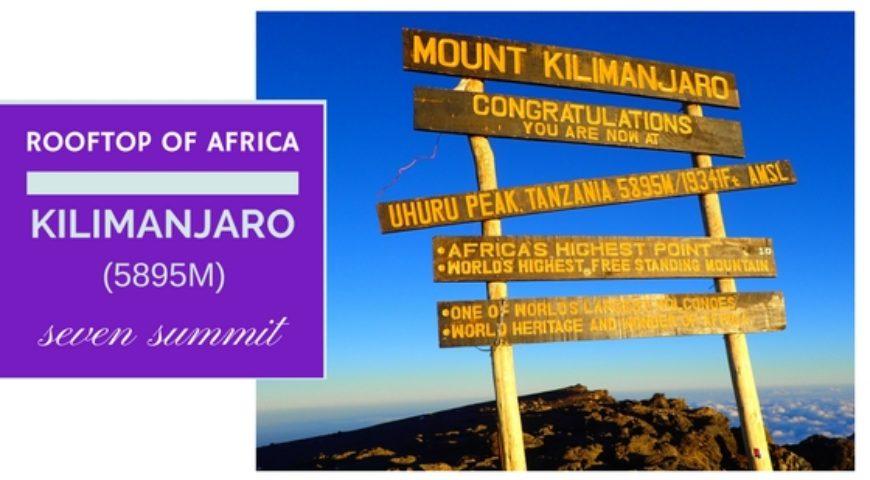 Seven Summit-Kilimanjaro(5895m)-2020