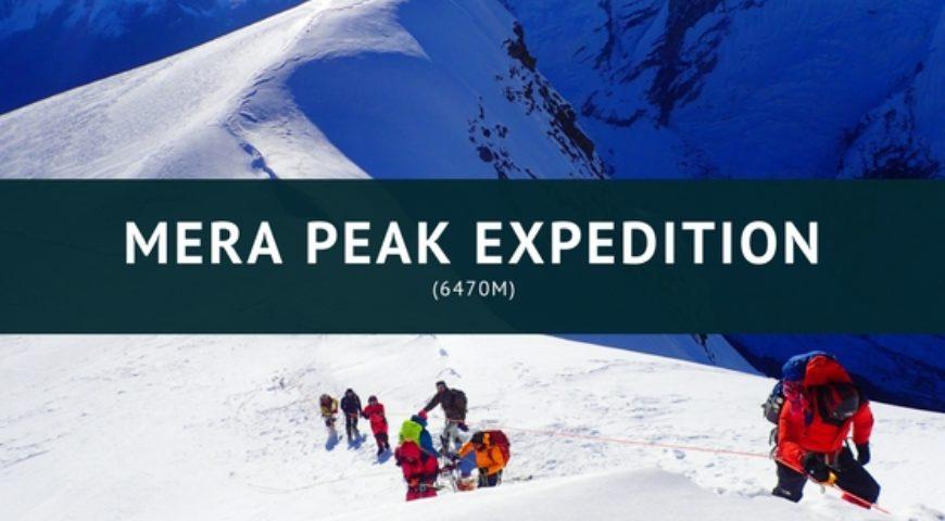 MERA PEAK EXPEDITION (6470m)