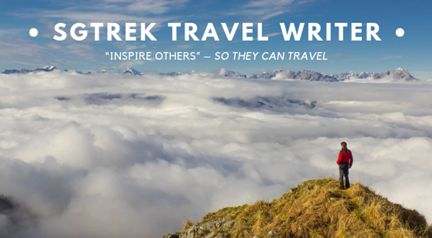 SGTREK TRAVEL WRITER