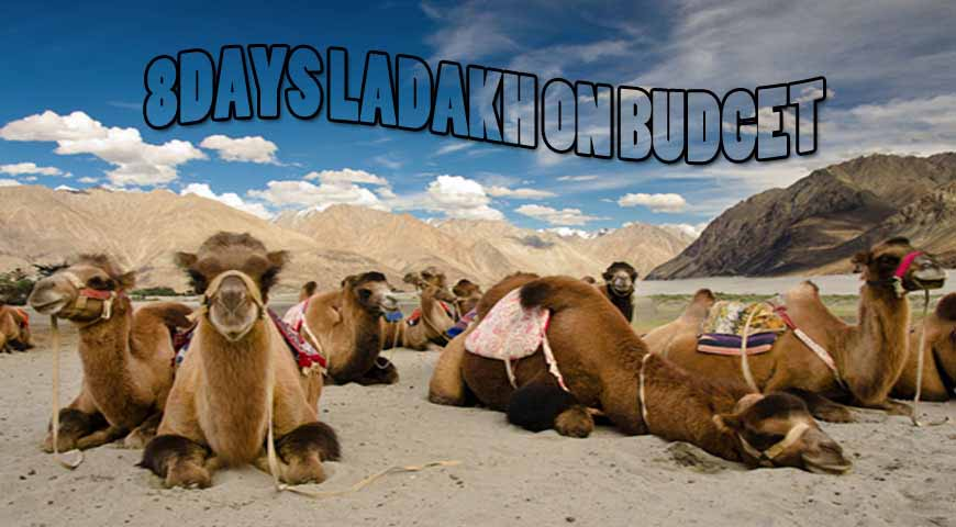 8DAYS LADAKH ON BUDGET 2020