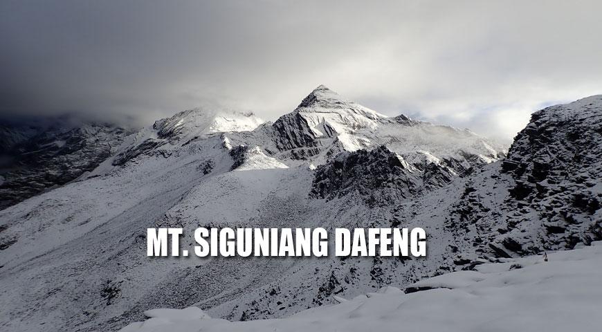 MT. SIGUNIANG DAFENG