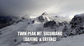 TWIN PEAKS – MT. SIGUNIANG (DAFENG & ERFENG)