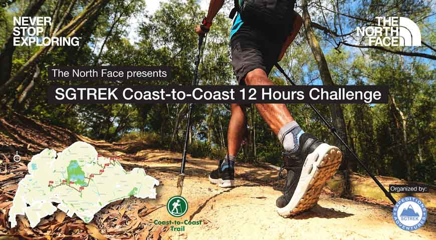 The North Face presents SGTREK Coast-to-Coast 12 Hours Challenge