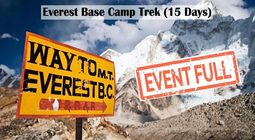 2020-Everest Base Camp Trek (15 Days)
