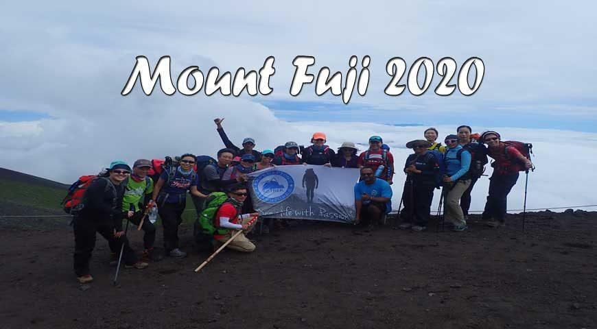 4d3n Climbing Mt Fuji 2020 Sgtrek