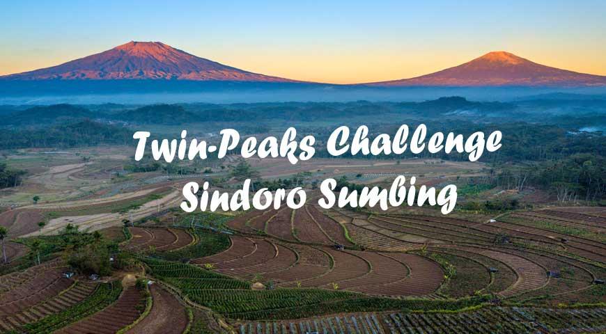 Twin-Peaks Challenge Sindoro Sumbing(07Aug2020)