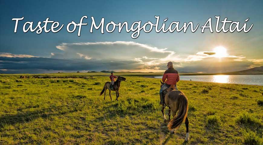 8D7N Taste of Mongolian Altai