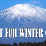 3D2N Mt. Fuji Winter Climb 2020