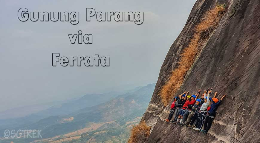 2D1N Gunung Parang Via Ferrata(18April2020)