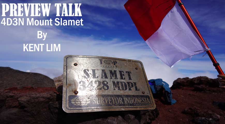 Preview Talk-4D3N Mount Slamet