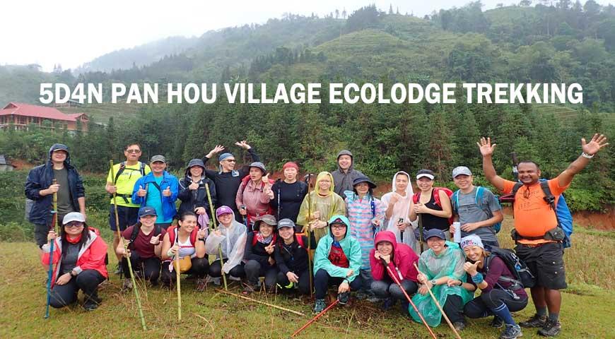 5D4N PAN HOU VILLAGE ECOLODGE TREKKING (2020)