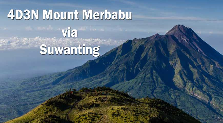 4D3N Mount Merbabu via Suwanting (01May2020)