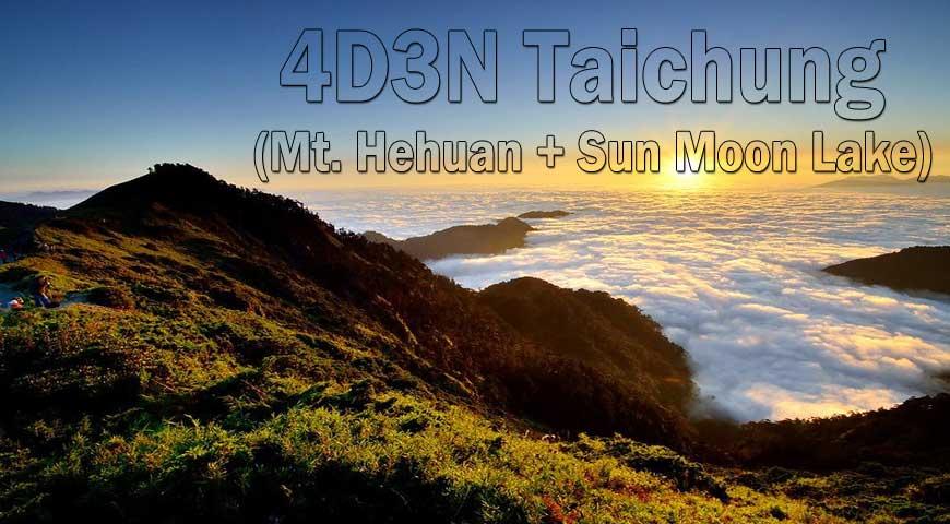 4D3N Taichung (Mt. Hehuan + Sun Moon Lake)