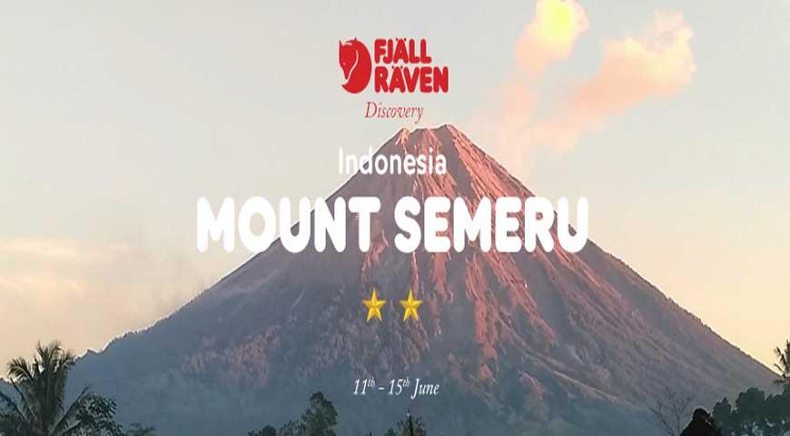 Fjallraven Discovery : 5D4N Gunung Semeru (11June2020)