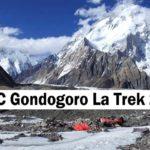 Pakistan:K2 BC Gondogoro La Trek 2020