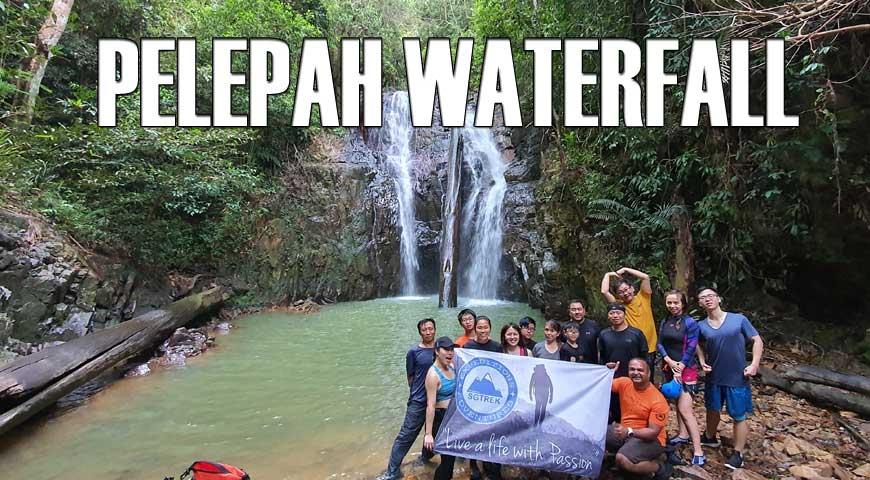 Pelepah Waterfalls Abseiling(25April2020)